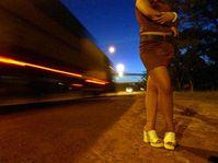 Prostituce v pražských ulicích, foto: ČTK