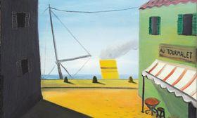 Kamil Lhoták, 'Au Tourmalet', 1939, foto: Retro Gallery / Obecní dům