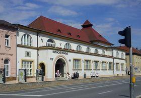 Le théâtre de la Moravie slovaque d'Uherské Hradiště, photo : Martin Strachoň, CC BY-SA 3.0