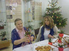 Marta Landová aKateřina Ebelová, foto: Zdeňka Kuchyňová