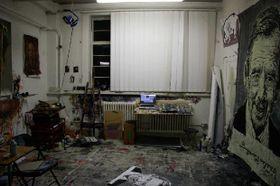 Hynek Martinec's studio in London