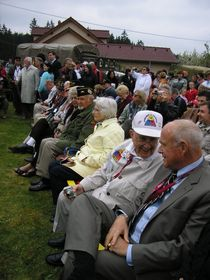 The 65th anniversary of the liberation in Konstantinovy Lázně, photo: author
