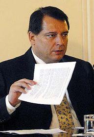 Jiri Paroubek, photo: CTK