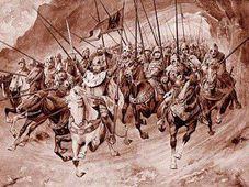 Бланицкие рыцари с св. Вацлавом во главе