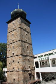 The StB secret police monitored Havel's home from the 16th century Šítkov Tower, photo: Barbora Němcová