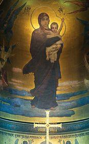 Мадонна с младенцем, Владимирский собор, Фото: Евгений Деменок