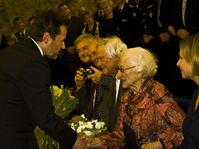 Jaroslava Doležalová - receiving honorary citizenship, photo: Vít Pohanka