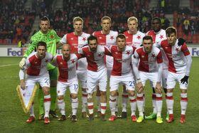 Jugadores de Slavia de Praga en la actualidad, foto: ČTK