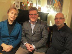 Lisa Peschel, Steve Muir, David Fligg, photo: David Vaughan