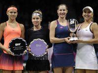 Lucie Šafářová, Bethanie Mattek-Sands, Ekaterina Makarova, Elena Vesnina, photo: CTK