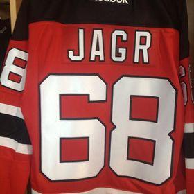 Форма Яромира Ягера, фото: New Jersey Devils