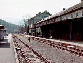 Železná Ruda train station, photo: CT24