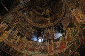 Fresken im Kloster Hurezi (Foto: Jana Šustová)