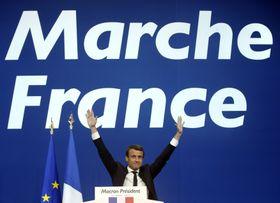 Emmanuel Macron, phoo: ČTK