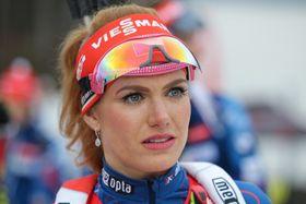 Gabriela Koukalová, foto: ČTK