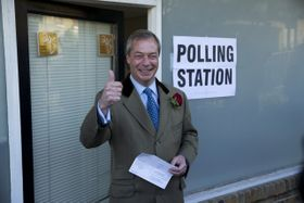 Nigel Farage, photo: CTK