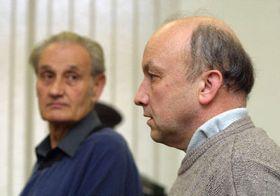 Врача-патолога Йозеф Карасек и Рихард Земанек (Фото: ЧТК)