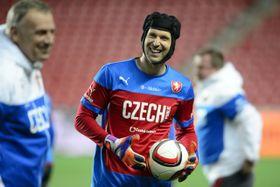 Голкипер чешской сборной Петр Чех (Фото: ЧТК)