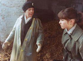 Jirina Jirásková y Alena Mihulová en la película 'Enfermeras'