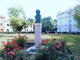 Бюст Франтишека Раша на площади Пршерова, фото: Palickap, CC BY-SA 4.0