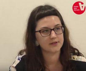 Martina Veverková (Foto: YouTube Kanal TVSolidarita)