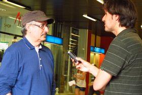 Director Xavier Bermúdez y Carlos Ferrer, foto: Kristýna Maková