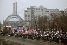 Москва, демонстрация на Болотной площади в 2011 г. (Фото: Leonid Faerberg, Wikimedia Commons, Licence CC BY-SA 3.0)