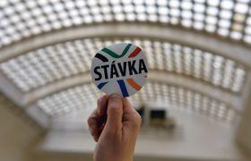 'La huelga', foto: ČTK