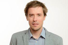 Tomáš Dufka, photo: Khalil Baalbaki, ČRo