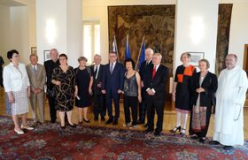 Gratias Agit Award recipients, photo: Czech Radio - Radio Prague