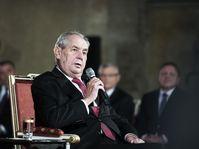 Miloš Zeman, photo: Michaela Danelová, ČRo