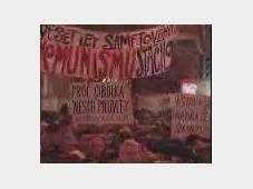 Демонстрация на Вацлавской плошади в Праге