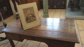 Schreibtisch des Schriftstellers Alexandre Dumas (Foto: Martina Schneibergová)
