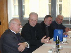 Prälat Zerrle und Bischof Radkovský