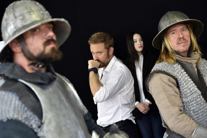 Americký herec Ben Foster (druhý zleva) aaustralská herečka Sophie Loweová, foto: ČTK/Vondrouš Roman