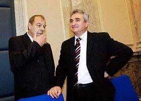 Milan Štěch (vpravo) aJaroslav Zavadil, foto: ČTK