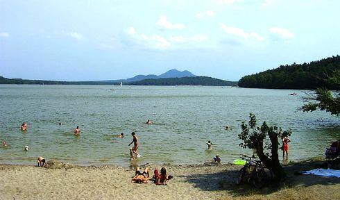 Le lac Mácha, photo: Kümmling, CC BY 2.5