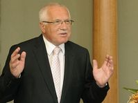 Václav Klaus, photo: CTK