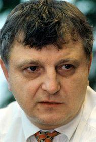 Předseda představenstva OKD ajednoho zmajitelů společnosti Karbon Invest Viktor Koláček (na archivním snímku zlistopadu 1998), foto: ČTK