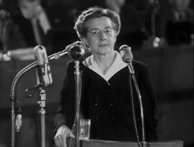 Milada Horáková, photo: Czech National Film Archive