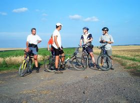 Cycling in southern Moravia