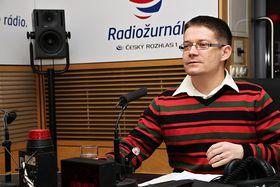 Patrik Nacher (Foto: Alžběta Švarcová, Archiv des Tschechischen Rundfunks)