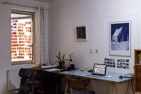 L'un des ateliers d'art de Bubahof, photo: Céline Duval