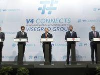 Andrej Babiš, Sebastian Kurz, Viktor Orbán, Peter Pellegrini, Mateusz Morawiecki, photo: ČTK