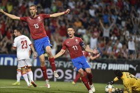 Česko porazilo Černou Horu 3:0, foto: ČTK / Jaroslav Ožana