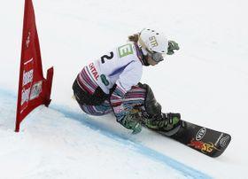 Mientras que en las semifinales Ester tuvo que luchar duramente, en la final triunfó cómodamente. Foto: ČTK.