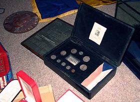 Krabice sostatky zhrobu prezidenta T. G. Masaryka