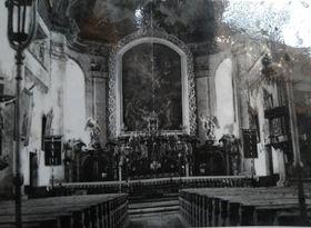 El aspecto original del interior de la iglesia, foto: Dominika Bernáthová
