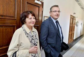 Milena Fischerová, Jiří Matzner, foto: ČTK/Vít Šimánek