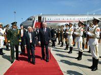 Miloš Zeman à Pékin, photo: ČTK